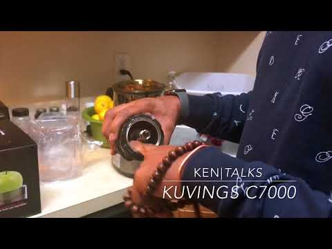 Kuvings C7000 Elite - Unboxing, Jucing & Cleaning Review