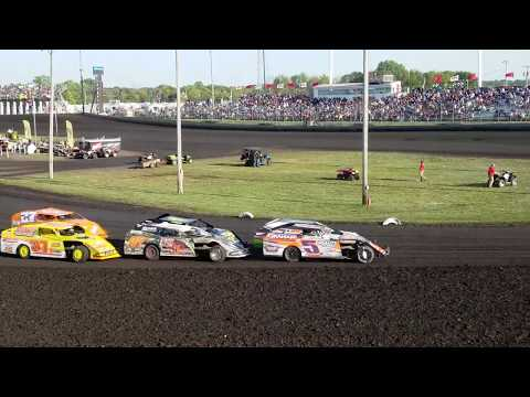Boone Speedway IMCA Modified Heat
