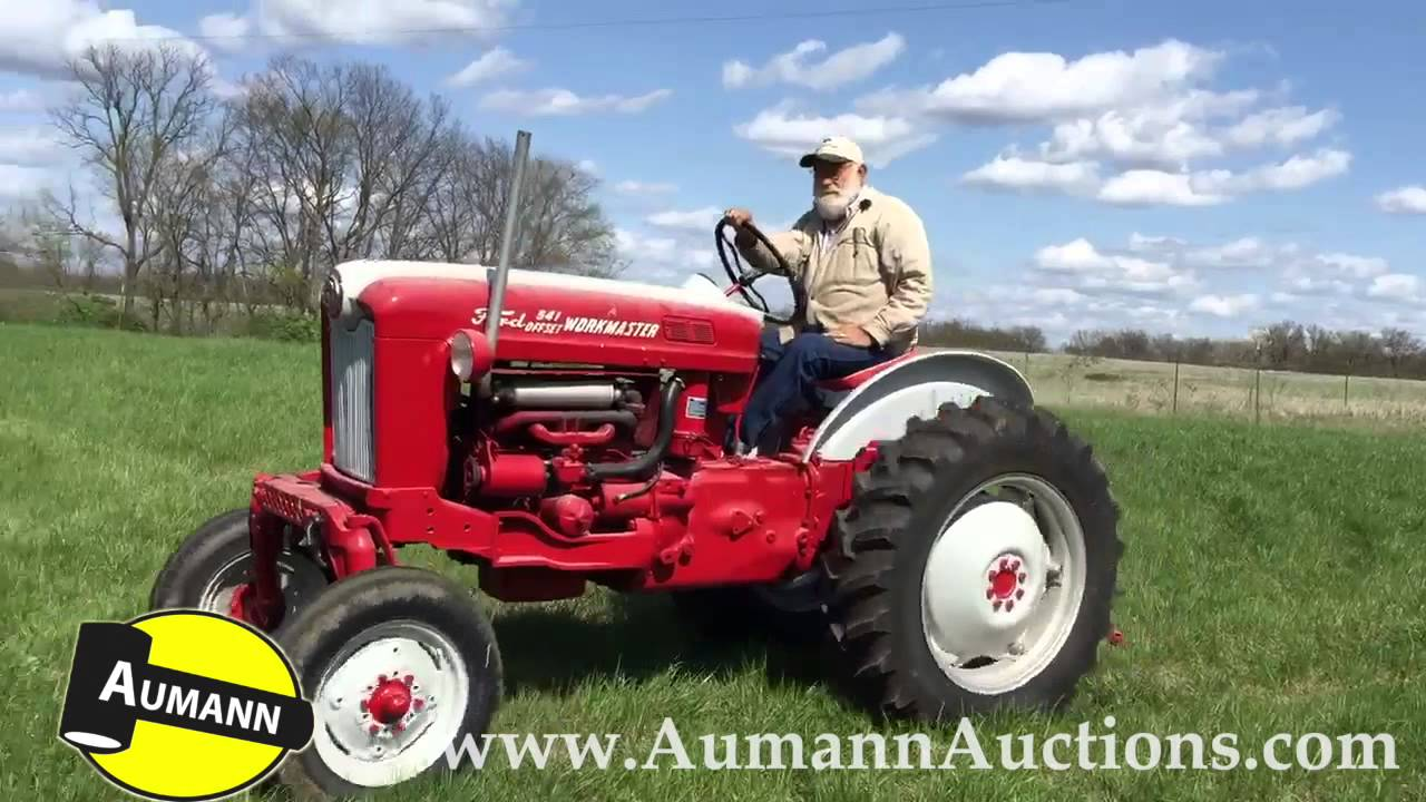 Ford Tractor Model 501 : Ford model offset tractor aumann auctions youtube