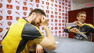 Olivier Giroud sings like ZAYN?! | Rapid Fire