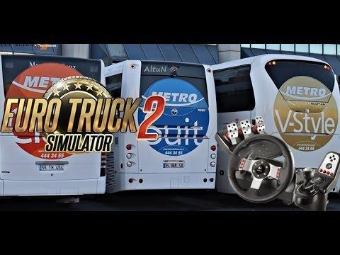 Euro Truck Simulatör 2 Otobüs Yaması Ve Yolcu Yaması Link Açıklamada