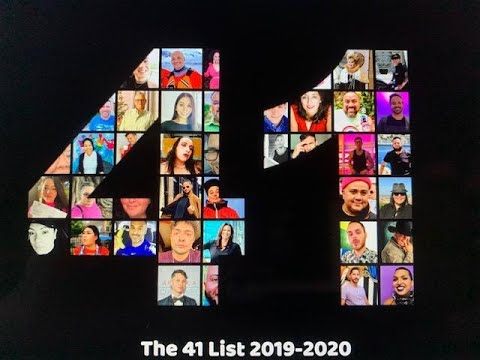 The 41 List 2019-2020 Honorees
