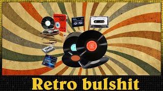 Retro bullshit: Fyzická média (kazety, cd, dvd)