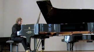 Elliott Carter - Piano Sonata, John Anderson, Part 1 - Maestoso- Legato scorrevole