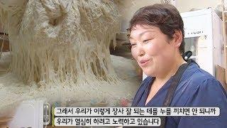 찹쌀 도넛의 달인, 반죽을 위한 엄청난 노력! @생활의…