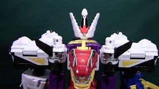 Power Rangers Dino Charge Plesio Charge Megazord (Kyoryuger Plezu-Oh, Bakuretsu Kyoryuzin)