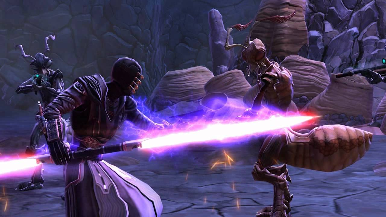 Star Wars The Old Republic Character Progression Sith Inquisitor Youtube