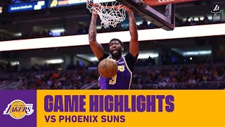 HIGHLIGHTS | Anthony Davis (24 points) Highlights vs. Phoenix Suns (11/12/19)