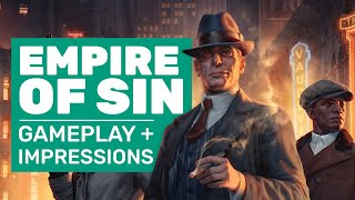 Empire Of Sin Gameplay And Impressions | Empire Of Sin Is XCOM meets The Untouchables