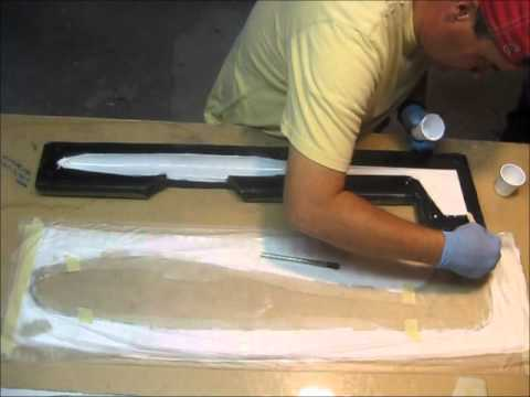 Making a Composite Plane - Laying up the Fuse #7