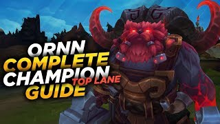 Ornn: THE FIRE BELOW THE MOUNTAIN - League of Legends Champion Guide [SEASON 7]