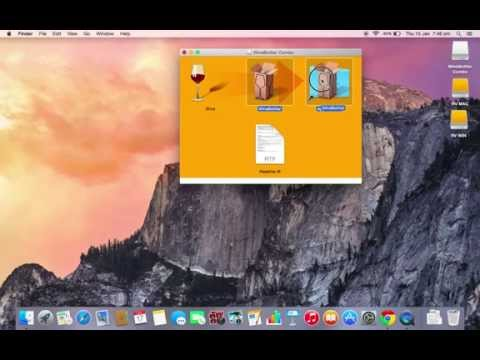 How to run any exe file on any macOS !! easy explain by Winebottler. Still Working( Old is Gold)