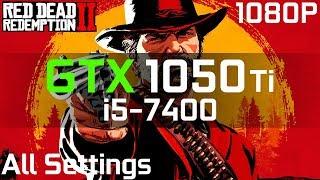Red Dead Redemption 2 GTX 1050 Ti + i5-7400   Low vs. Medium vs. High vs. Optimal   1080p