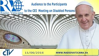 Audience to the Participants to the Meeting on Disabled Persons