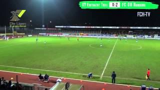 Höhepunkte SV Eintracht Trier - FC 08 Homburg (RL Südwest 2014/15)