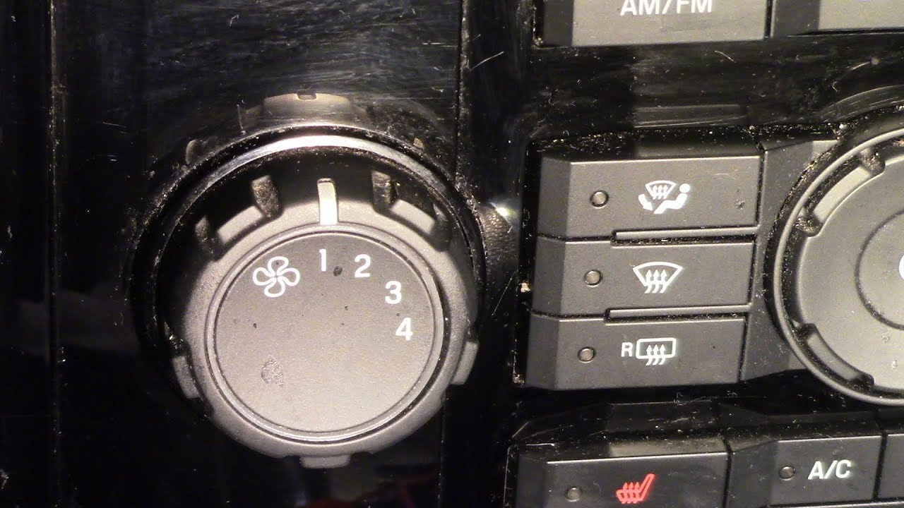 Ford Escape Blower Not Working On All Speeds Simple Fix Youtube 2007 Edge Fuse Box
