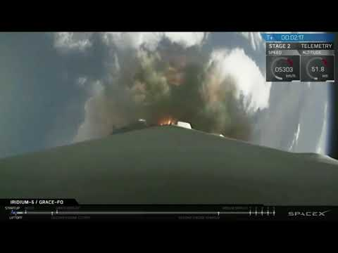 Blastoff! SpaceX Launches NASA's GRACE-FO Mission, More Satellites