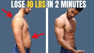 "8 Ways To ""LOSE"" WEIGHT In Under 2 minutes"