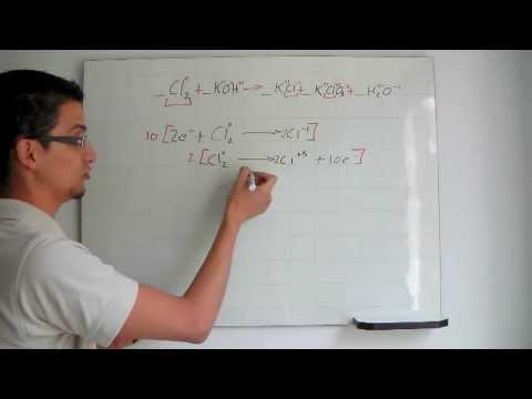 Balanceo químico por metodo REDOX