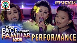 Your Face Sounds Familiar Kids 2018: TNT Boys as DOREMI | I Can
