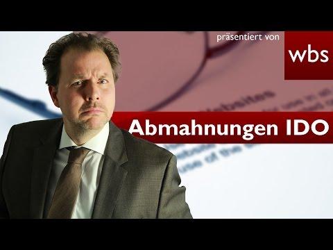 LG Berlin – IDO nicht zur Abmahnung berechtigt? | Rechtsanwalt Christian Solmecke