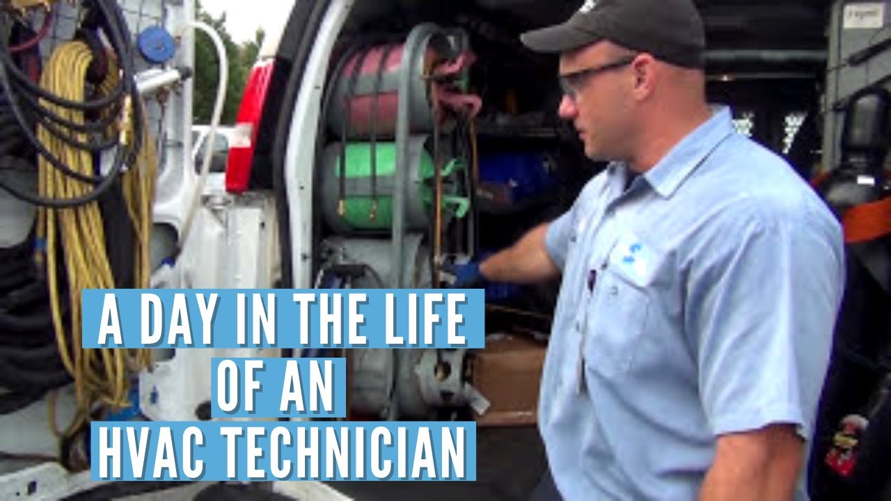 Diagram Day In The Life Of An Hvac Technician