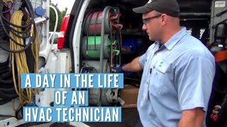 Job Shadowing: HVAC Technician-Intern Partnership, A Day in the Life of a HVAC Technician