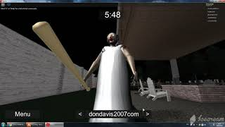 Video 1-XO PARADISE....... Don't be afraid of granny... ROBLOX