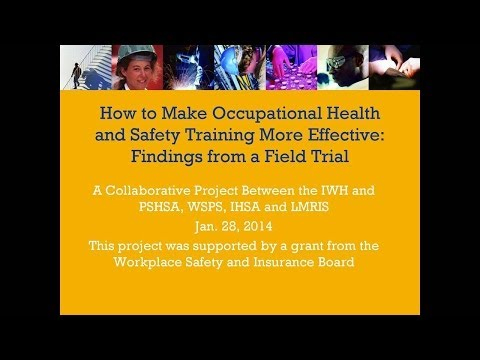 How to make occupational health and safety training more eff