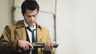 Castiel is an Angel with a Shotgun