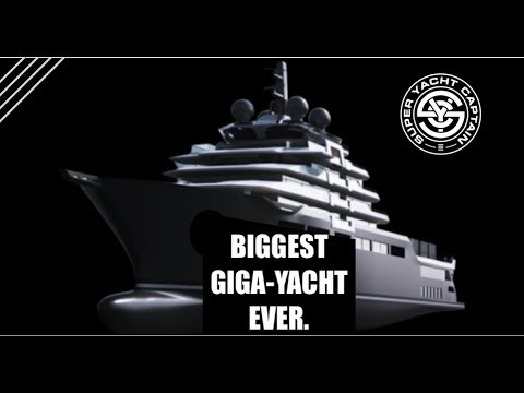 2019: THE BIGGEST LUXURY SUPER-MEGA-GIGA YACHT EVER!!! (Captain's Vlog 43)