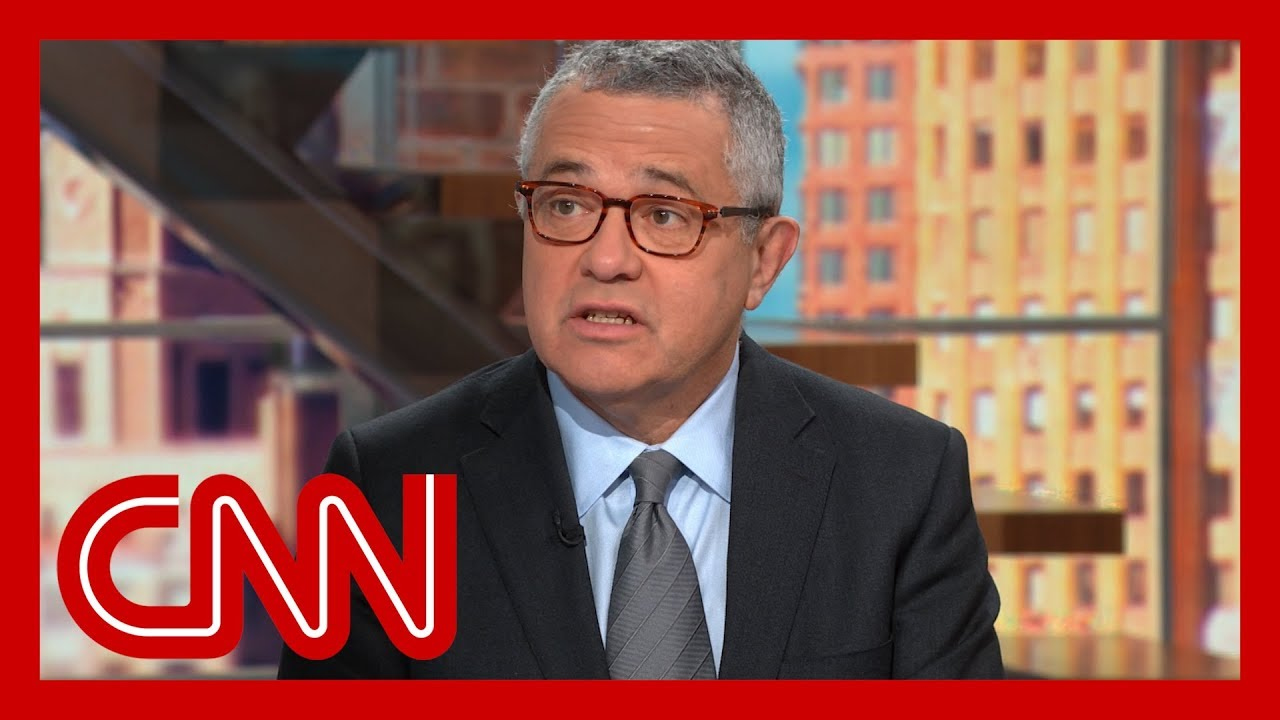 Jeffrey Toobin: Trump's move shows 'he got caught'
