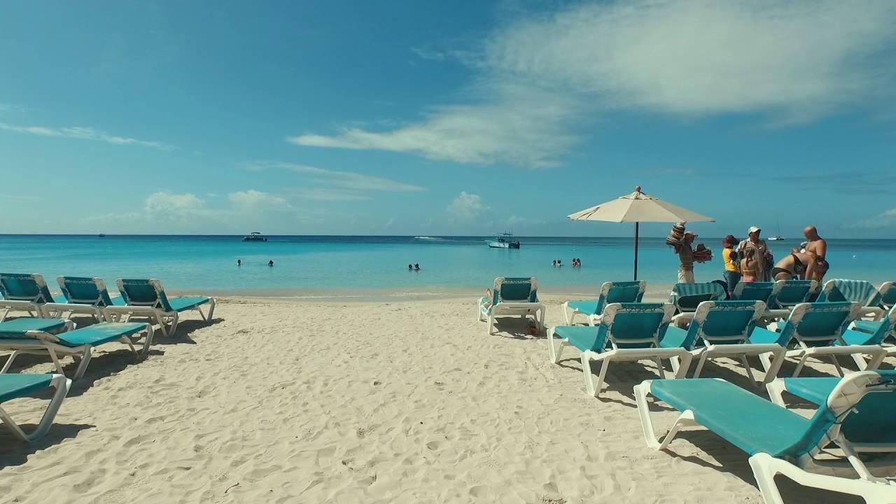 Roatan, Honduras - Swimming at West Bay Beach HD (2016