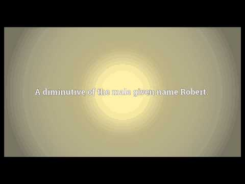Robby Meaning