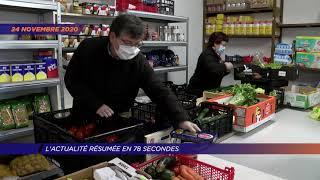 Yvelines | L'actu de la semaine en 78 secondes (du 23 au 27 novembre 2020)