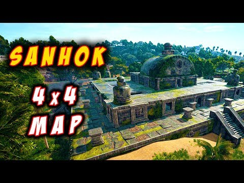 *SANHOK - New Map* PUBG India
