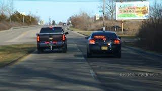 Delaware County IN Police Chase