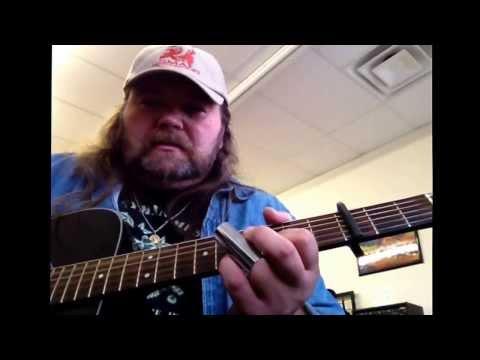 Black Lung Heartache acoustic guitar lesson...Joe Bonamassa