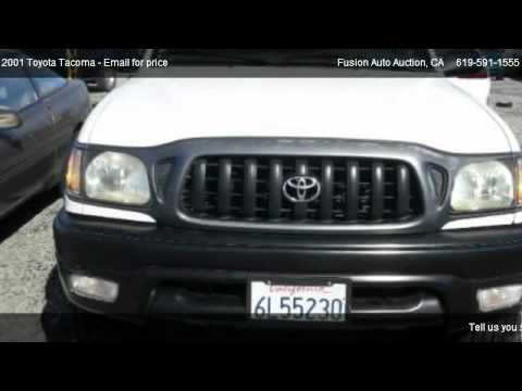 2012 Toyota Tacoma For Sale >> 2001 Toyota Tacoma Prerunner - for sale in San Diego, CA 92154 - YouTube