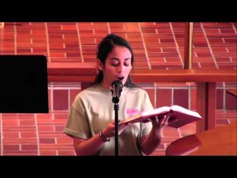 Spirit of Gentleness sung by Christina Hernandez