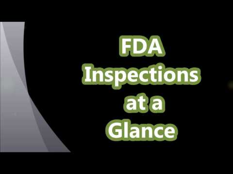 Regulatory Inspections and FDA