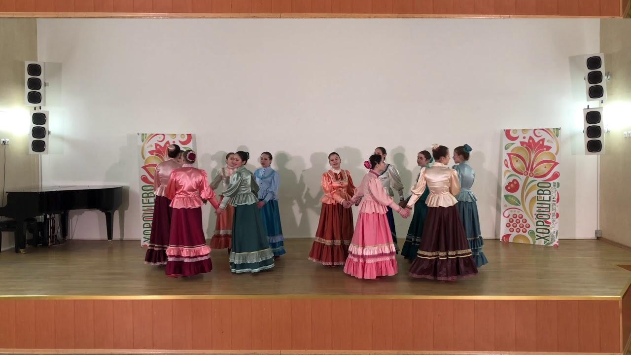 Ансамбль народной песни «Маков цвет» Старшая группа (12-14 лет)