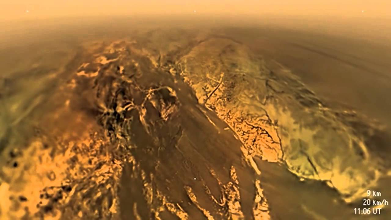 Farewell, Titan! Cassini's Last View of Saturn Moon Shows Fabulous Methane Lakes