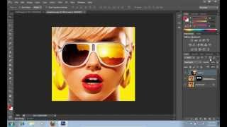 How to Add Sunglasses Reflection in Photoshop CS6