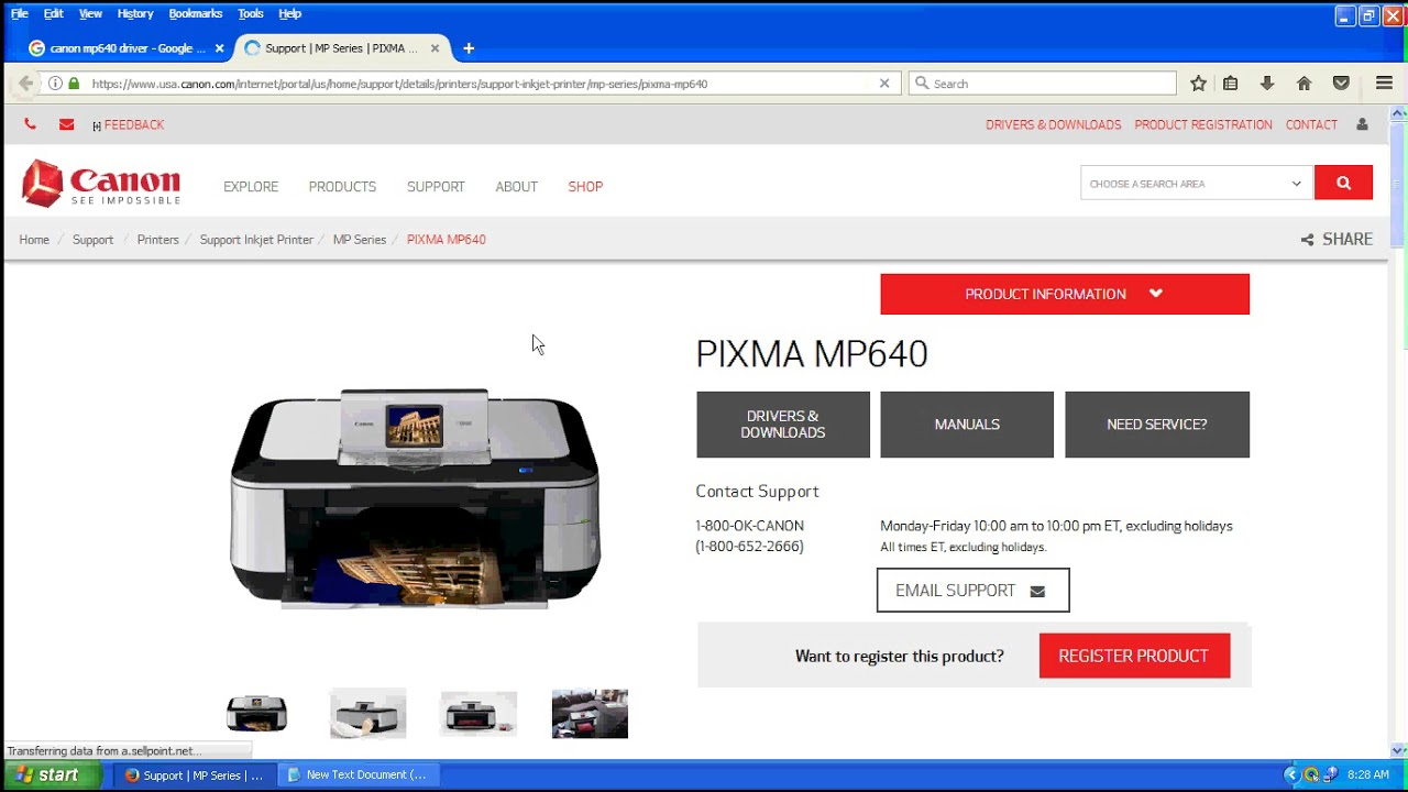 CANON MP640 SOFTWARE DRIVERS DOWNLOAD