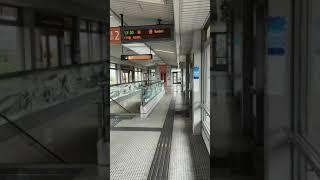 (長楽寺発)アストラムライン 6000系14編成長楽寺駅到着