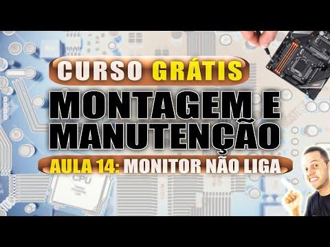Aula 14 - Monitor LG Flatron não liga - Curso Grátis AndreCisp