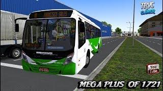 [OMSI 2] Neobus Mega Plus OF 1721 Bluetec 5 ,MAPA CG 12 SKIN SÃO JOSE RJ