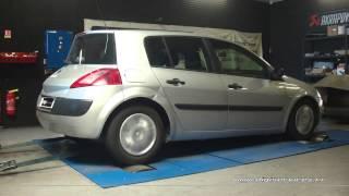Reprogrammation Moteur Renault Megane 2 1.5 dci 82cv @ 110cv Digiservices Paris 77 Dyno