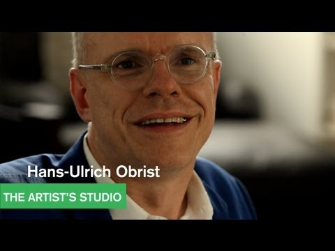 Hans-Ulrich Obrist - 24 Hours in LA - The Artist&39;s Studio - MOCAtv